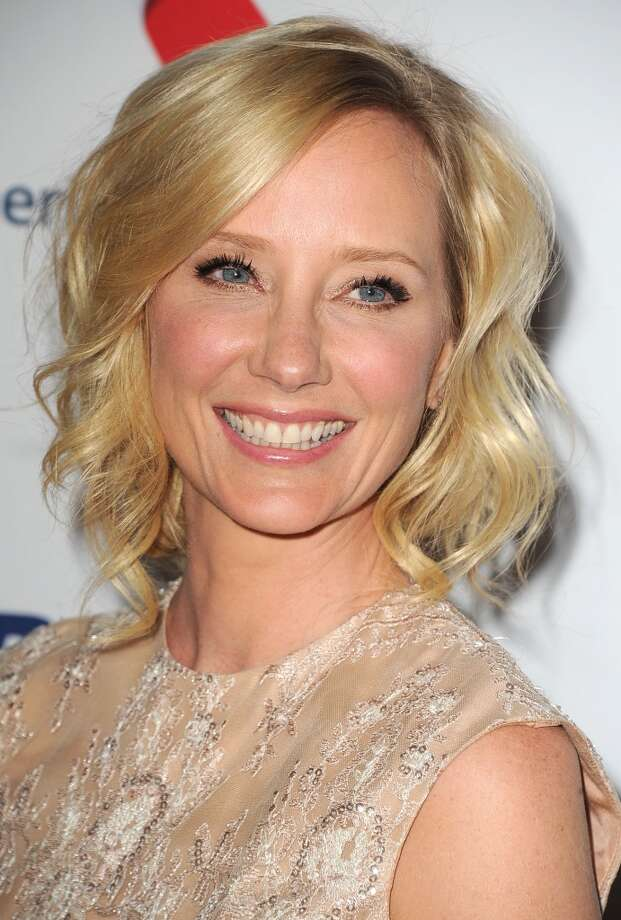 "CENTURY CITY, CA - MAY 03:  Anne Heche arrives at the 20th Annual Race To Erase MS Gala ""Love To Erase MS"" at the Hyatt Regency Century Plaza on May 3, 2013 in Century City, California.  (Photo by Steve Granitz/WireImage)"