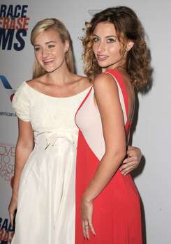 Actresses/singers AJ Michalka and Aly Michalka