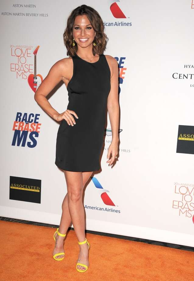 "CENTURY CITY, CA - MAY 03:  Melissa Rycroft arrives at the 20th Annual Race To Erase MS Gala ""Love To Erase MS"" at the Hyatt Regency Century Plaza on May 3, 2013 in Century City, California.  (Photo by Steve Granitz/WireImage)"