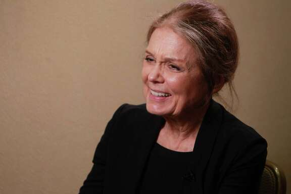 WOULD LIKE TO HAVE DINNER WITH: Gloria Steinem