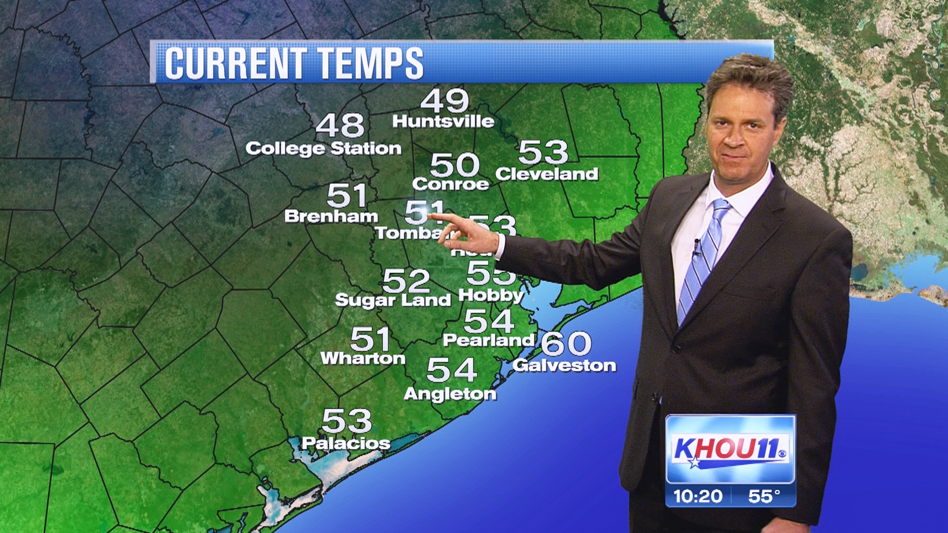 Khou Weather Map.Khou S Weatherman Hiccups His Way To National Fame
