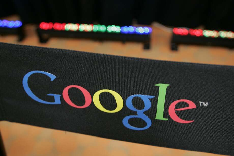 FILE - This Sept. 2, 2008 file photo shows the Google logo on a chair at the company's headquarters in in Mountain View, Calif. Google Inc. on Wednesday, April 17, 2013 is expected to announce it's taking over a troubled municipal fiber-optic system in a high-tech corridor of Utah, making Provo the third Google Fiber city. (AP Photo/Paul Sakuma, File) Photo: Paul Sakuma, Associated Press