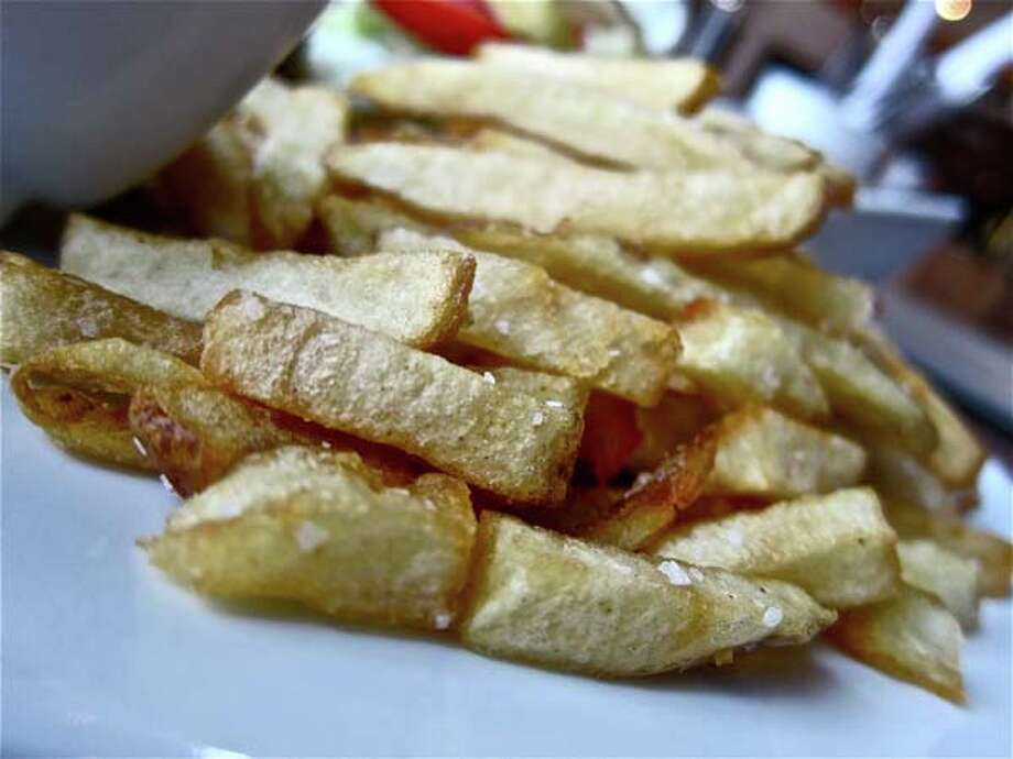 Fresh-cut French fries at Underbelly. Photo by Alison Cook Photo: Alison Cook
