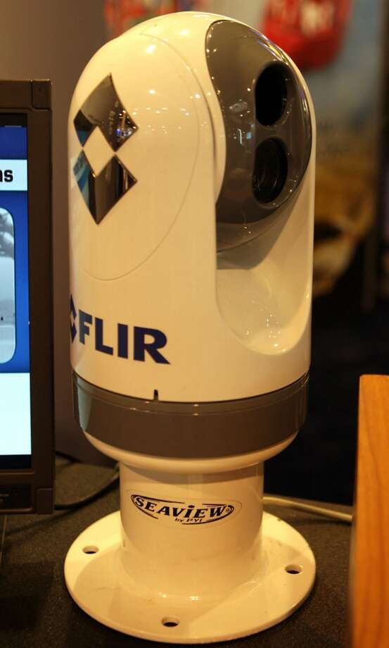 A FLIR Systems, Inc. camera at OTC 2013 at Reliant Park Monday, May 6, 2013, in Houston. ( James Nielsen / Houston Chronicle )