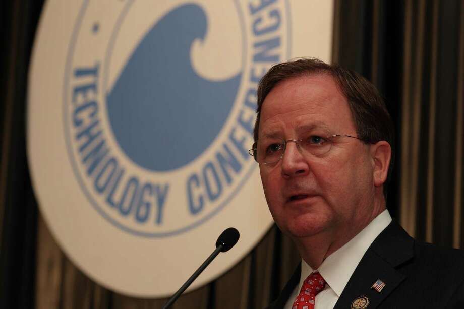 Rep. Bill Flores, R-Bryan, speaks about U.S. energy policy during the 2012 Offshore Technology Conference Wednesday, May 2, 2012, in Houston. ( Brett Coomer / Houston Chronicle ) Photo: Brett Coomer, HC Staff / © 2012 Houston Chronicle