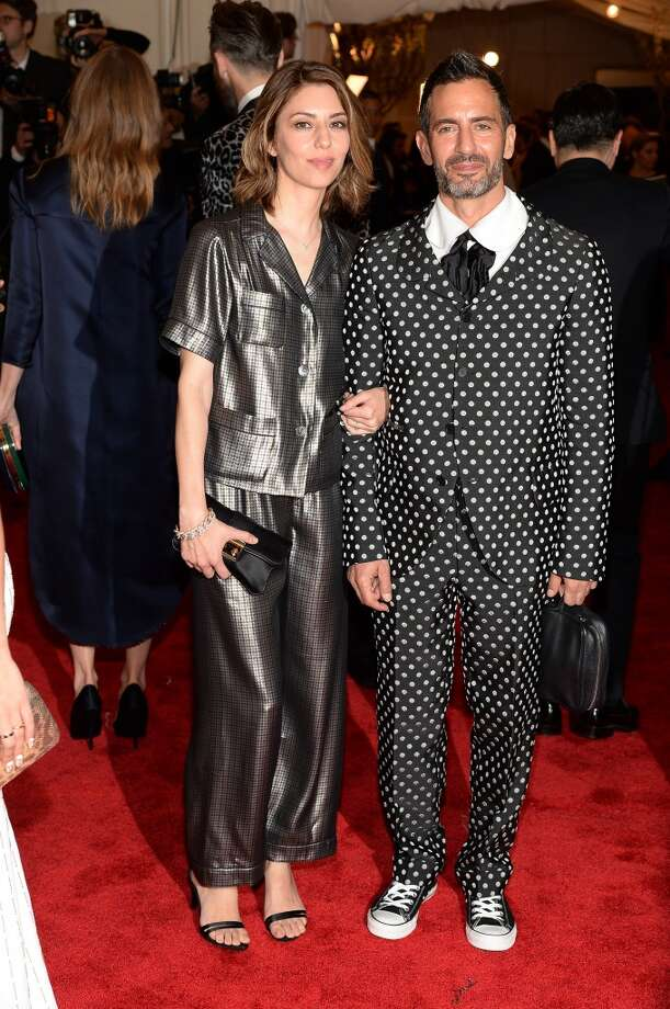 "NEW YORK, NY - MAY 06:  Sofia Coppola and Marc Jacobs attend the Costume Institute Gala for the ""PUNK: Chaos to Couture"" exhibition at the Metropolitan Museum of Art on May 6, 2013 in New York City.  (Photo by Dimitrios Kambouris/Getty Images)"