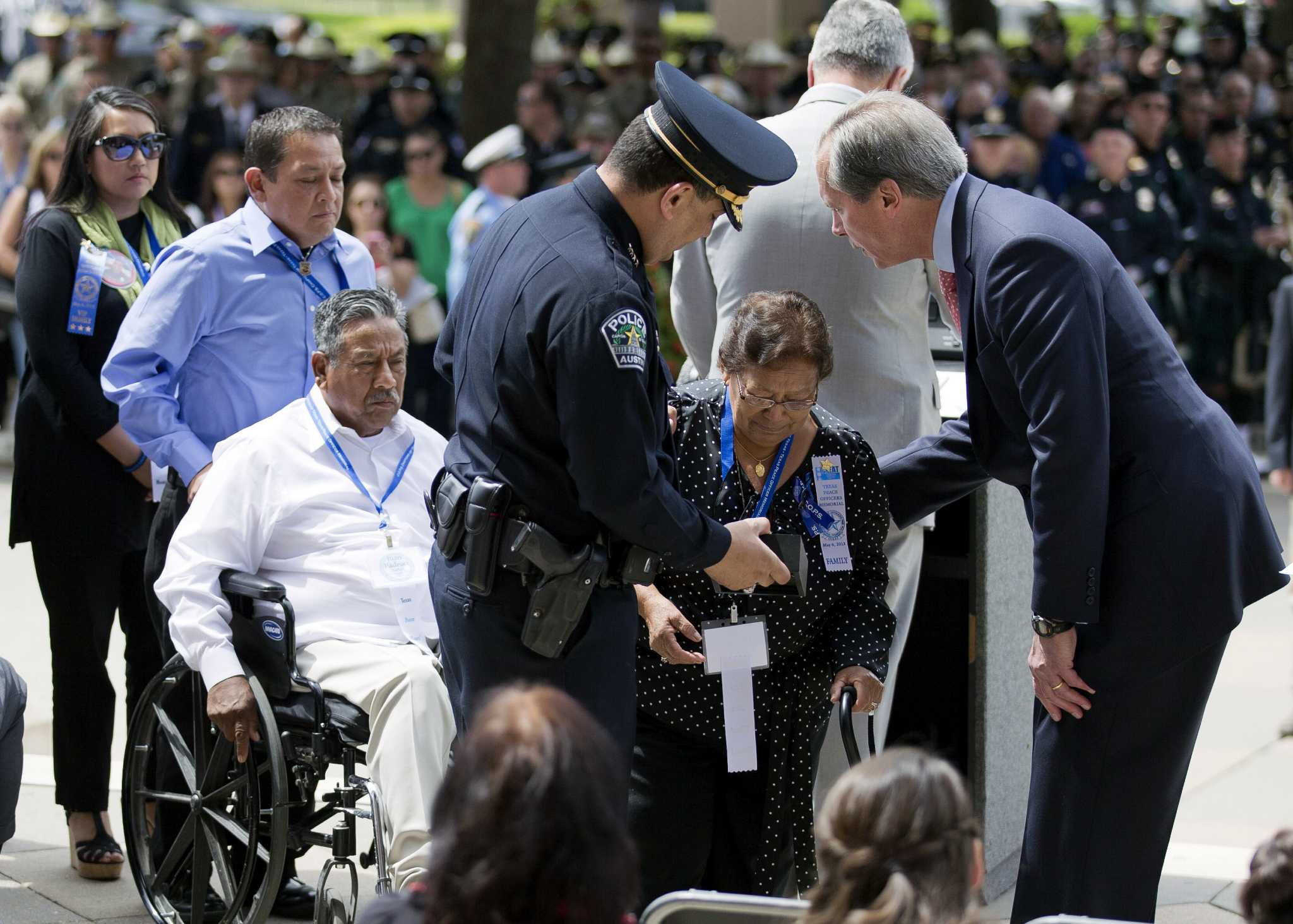 Texas Officers Killed On Duty Remembered San Antonio