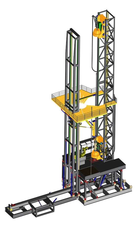 West Drilling Products' Continuous Motion Rig