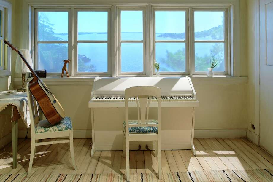 Step inside the song writing cottage on the island of Viggsö.