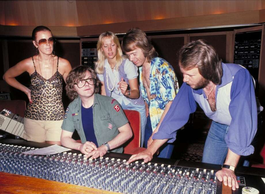 Mix a song yourself and then compare it to one by ABBA sound engineer Michael B Tretow. (Pictured: At Polar Music Studio with Michael B Tretow)