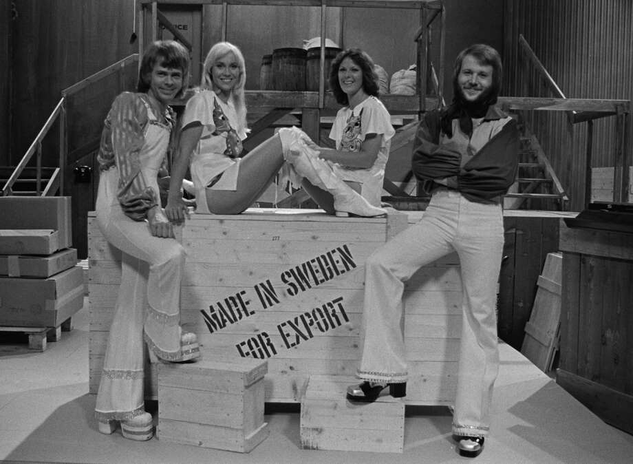 ABBA appears on 'Made In Sweden – For Export' in 1975.