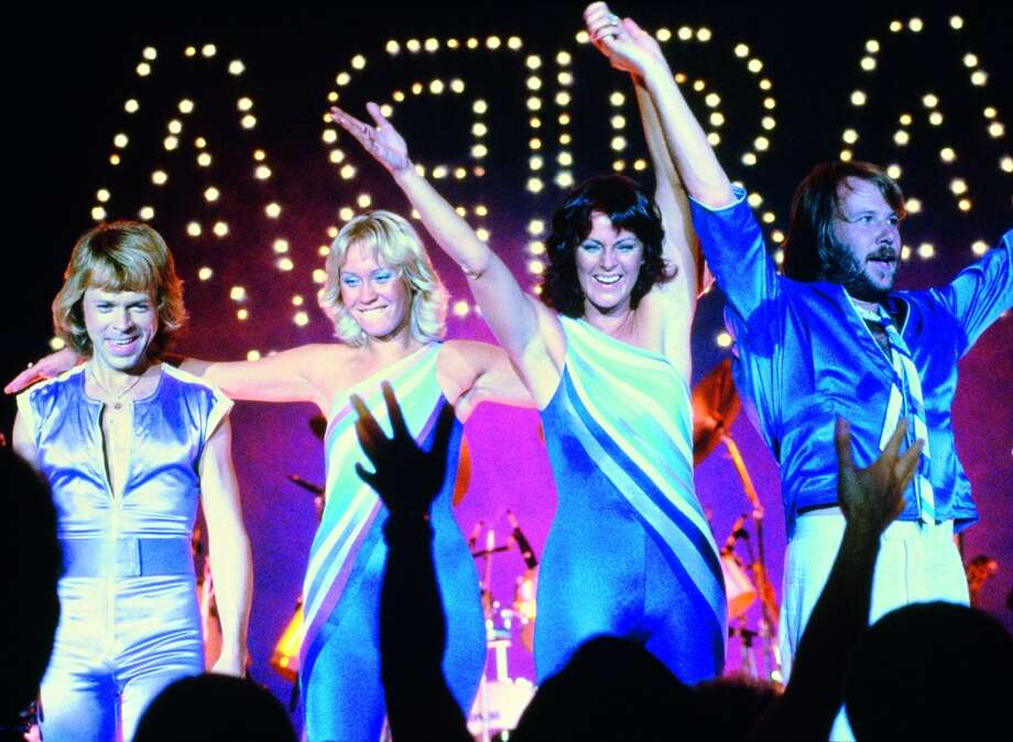 Would you like to perform together with ABBA? At the museum, you have the chance to do just that. (Pictured: ABBA live on stage in 1979)