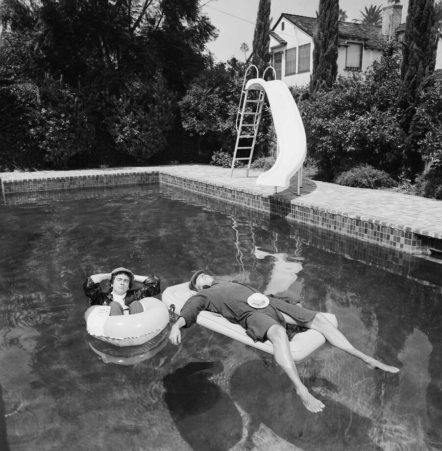 Peter Cook and Dudley Moore, 1975. Photo: Terry O'Neill, Getty Images / 2005 Getty Images