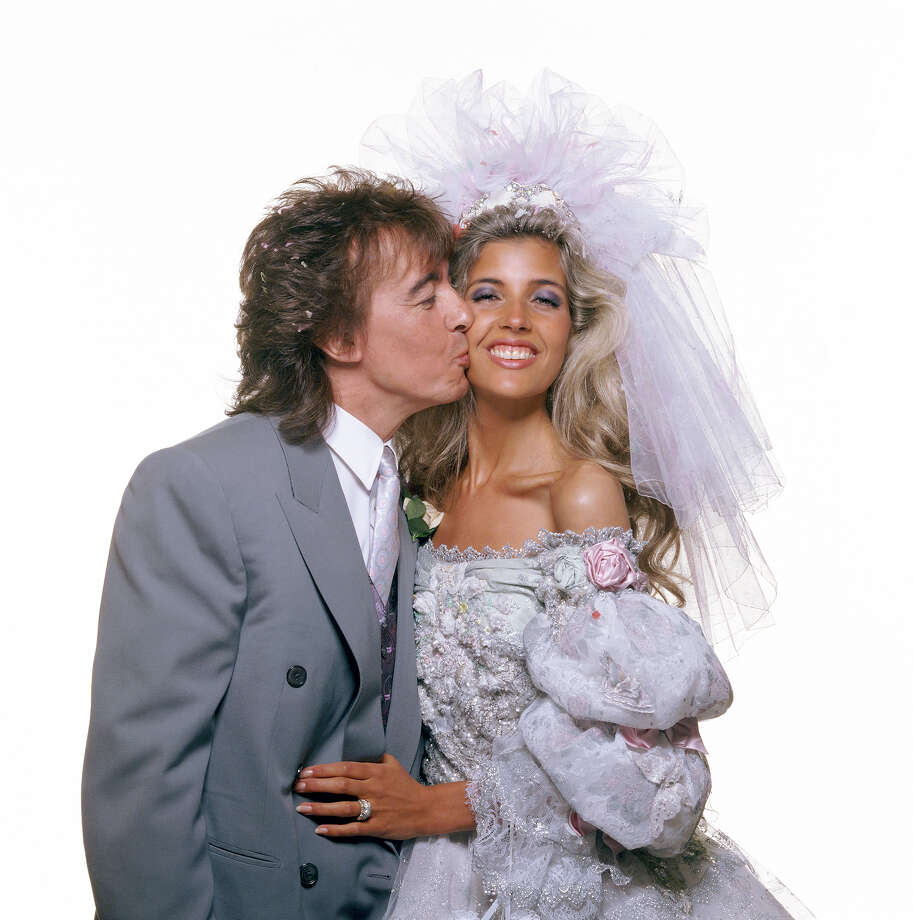 Bill Wyman and Mandy Smith, 1989. Photo: Terry O'Neill, Getty Images / 2005 Getty Images