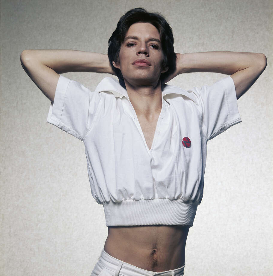 Mick Jagger, 1975. Photo: Terry O'Neill, Getty Images / 2005 Getty Images