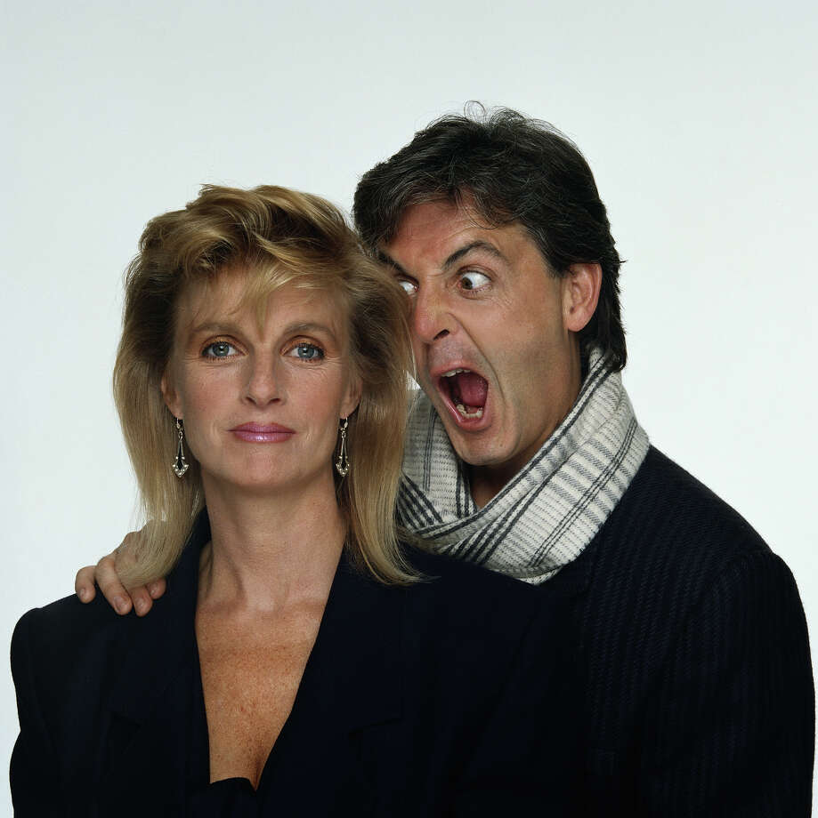 Paul and Linda McCartney, 1985. Photo: Terry O'Neill, Getty Images / 2007 Getty Images