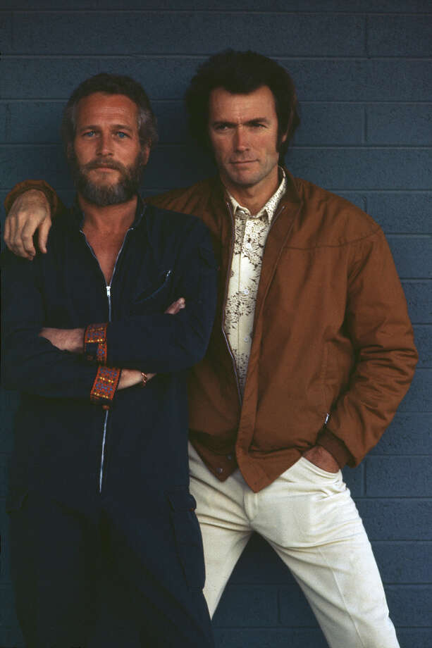 Paul Newman and Clint Eastwood, 1972. Photo: Terry O'Neill, Getty Images / 2010 Getty Images