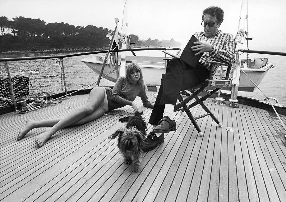 Britt Ekland and Peter Sellers, 1966. Photo: Terry O'Neill, Getty Images / Terry O'Neill