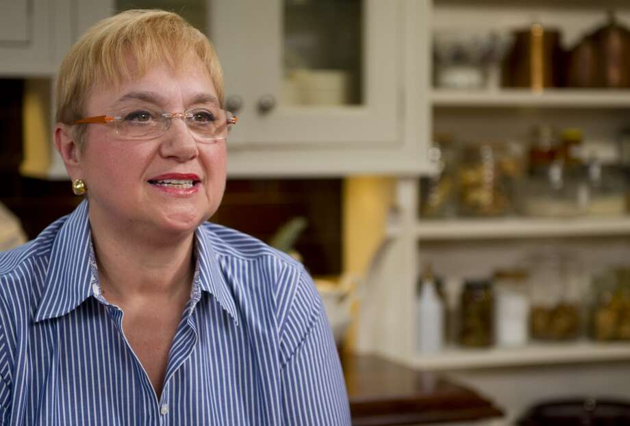 "Lidia Bastianich, well-known television host and best-selling cookbook author, talks about her new public television show, ""Lidia's Kitchen,"" which she filmed at Clarke Showroom and Test Kitchen in Norwalk, Conn."