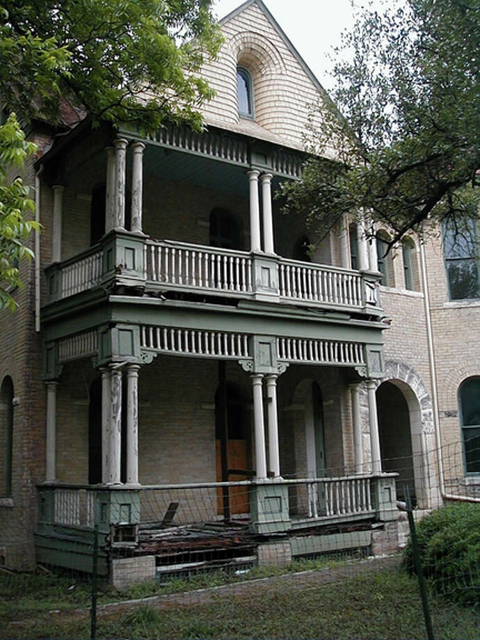 The porch of this house at 234 HemisFair was restored using a grant by the San Antonio Conservation Society. Photo: COURTESY OF SAN ANTONIO CONSERVATION SOCIETY