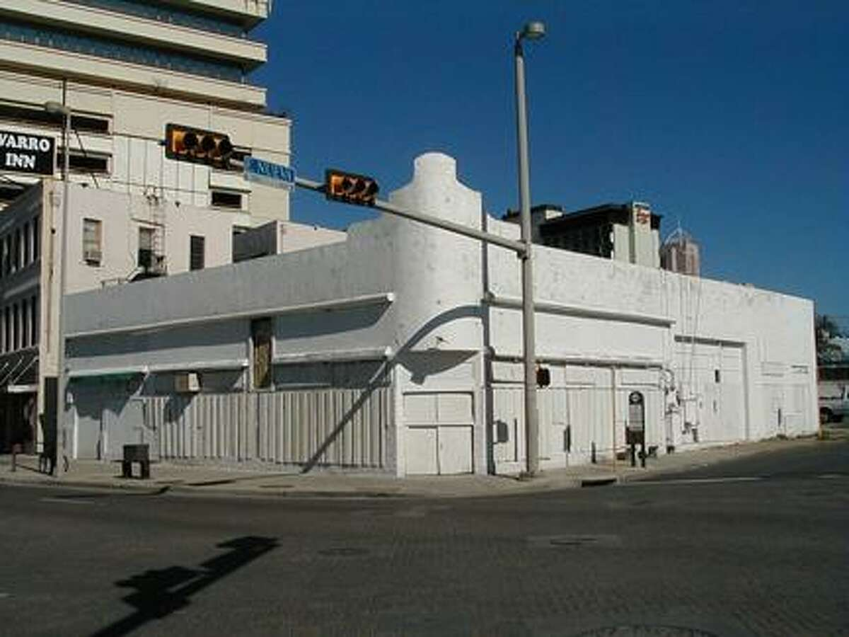 This building at 102-104 Navarro St. once housed the Alaskan Palace restaurant and bar.