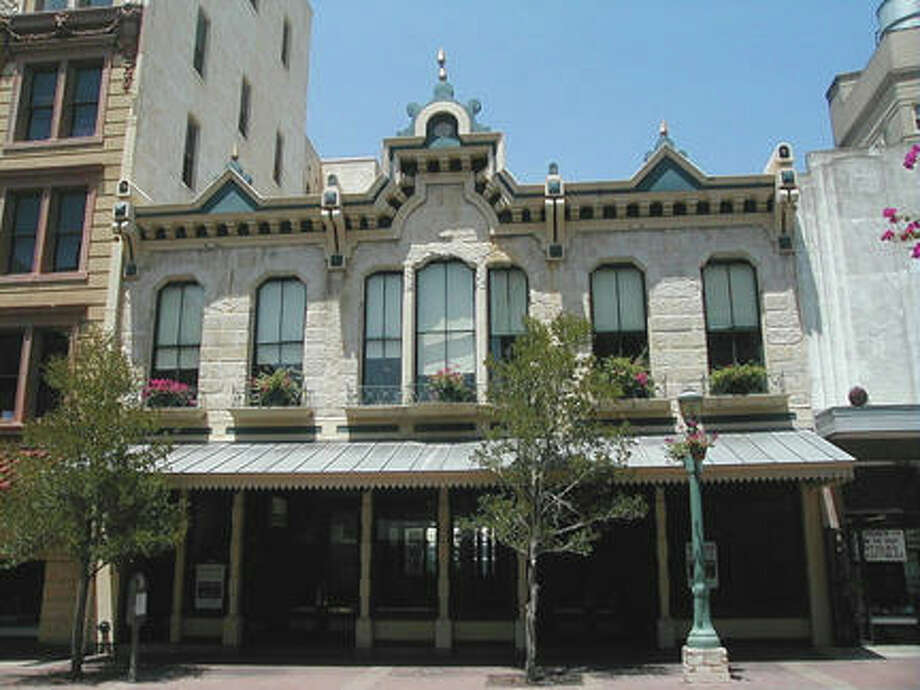 The Maverick building was restored and underwent a facade easement courtesy of the Conservation Society Foundation. Photo: COURTESY OF SAN ANTONIO CONSERVATION SOCIETY