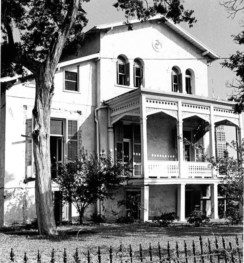 The Wulff House was built in 1870. It was once slated for demolition until the Conservation Society purchased it in 1974. Photo: COURTESY OF SAN ANTONIO CONSERVATION SOCIETY