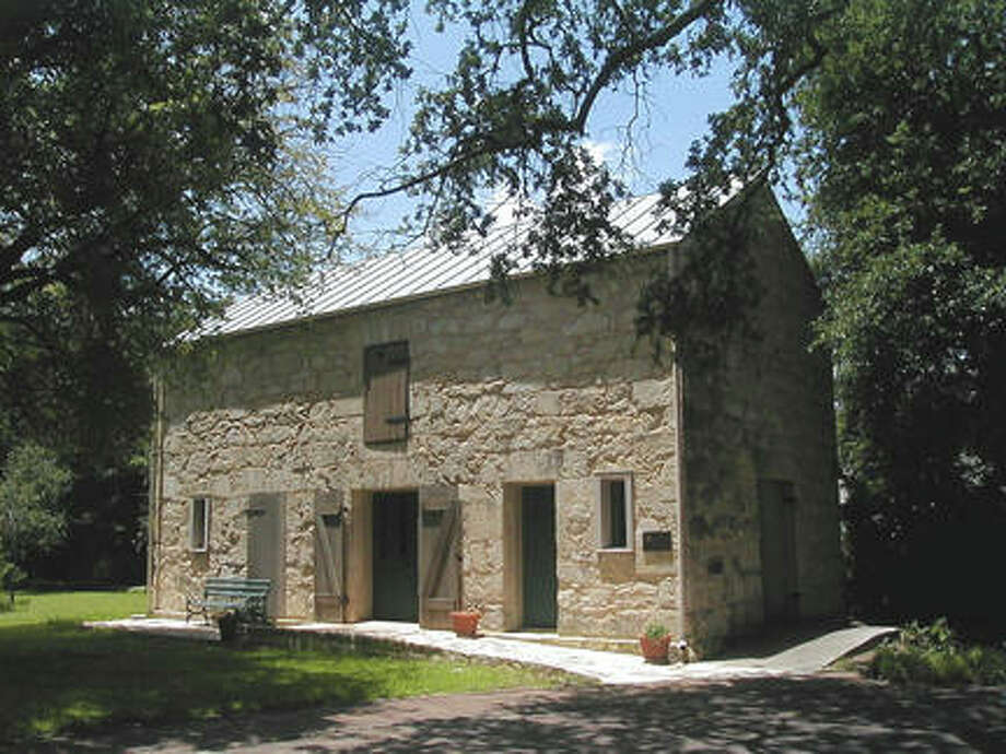 Today, the barn serves as additional meeting and work space for the Conservation Society. Photo: COURTESY OF SAN ANTONIO CONSERVATION SOCIETY