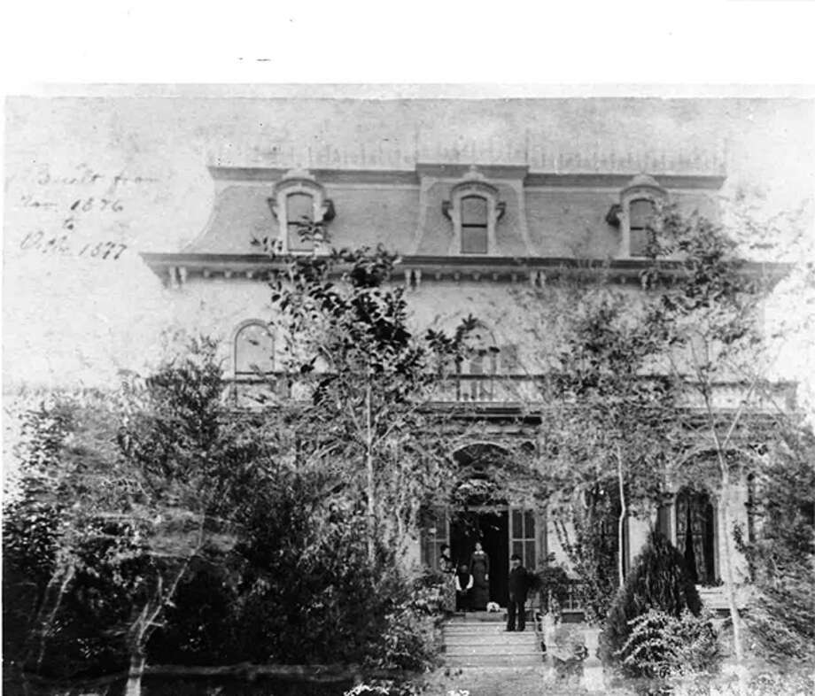 The Edward Steves Homestead was built in 1876 for Edward Steves, founder of the Steves Lumber Company. Photo: COURTESY OF SAN ANTONIO CONSERVATION SOCIETY