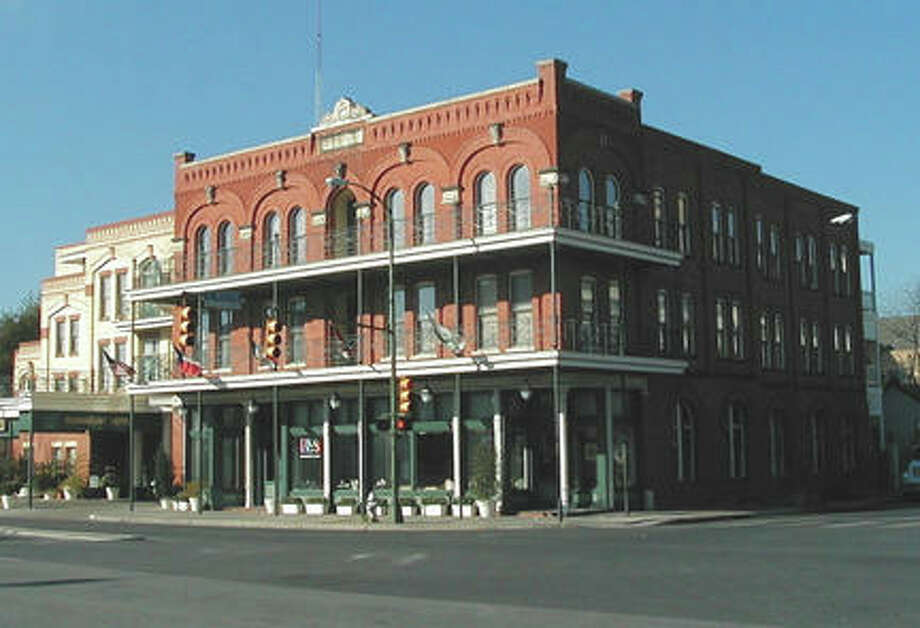 The facade was donated to the Conservation Society in 1986 by the partners of the Fairmount Hotel Company and was restored and enlarged. Photo: COURTESY OF SAN ANTONIO CONSERVATION SOCIETY