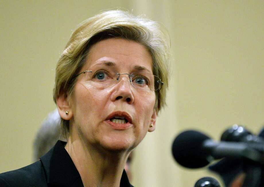 The economy and finance expert and first female senator from Massachusetts has made a name for herself among Democrats, with some even calling for her to run for president. But until 1995, Elizabeth Warren was a Republican. Photo: STAN HONDA, File / AFP