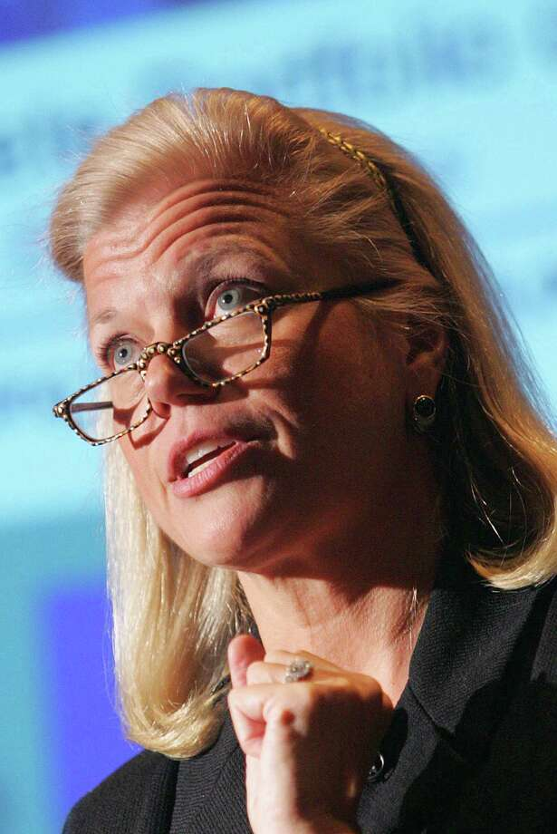 "25. Virginia ""Ginni"" RomettyGinni Rometty is the chairman and CEO of IBM, the first woman to head the multinational company. She officially took on the role in January 2012.Since then, she has strived to refocus the company on innovation and catering to clients' needs. And it seems to be paying off. The 55-year-old businesswoman was voted The Most Powerful Woman in Business by Fortune last year.She was paid about $16 million last year—arguably not enough compared to other male CEOs—but she's paving the way for other budding businesswomen. Photo: Dima Gavrysh, File / 2006 AP"