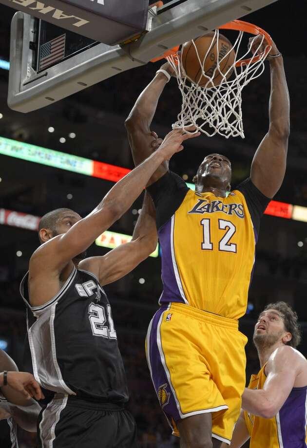 SIGNEDDwight Howard  Former team: Los Angeles Lakers  New team: Houston Rockets Photo: Mark J. Terrill, Associated Press