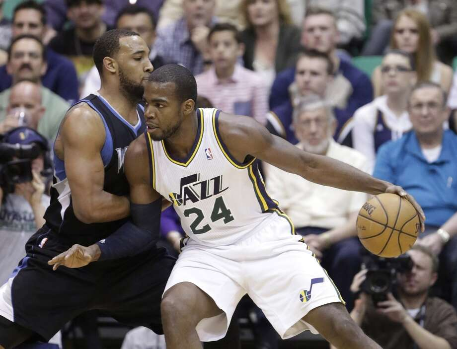 Paul Millsap  Former team: Utah Jazz  New team: Atlanta Hawks  Photo: Rick Bowmer, Associated