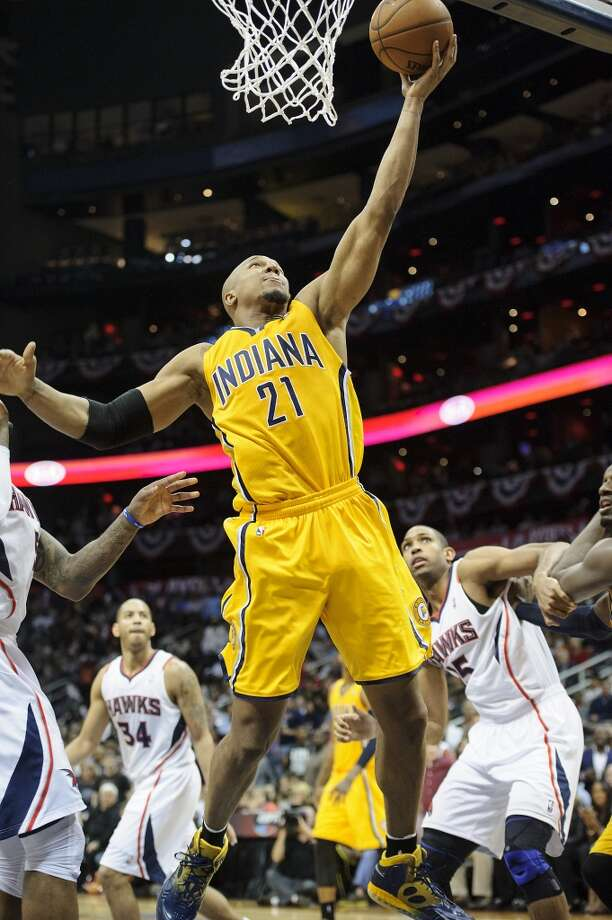 David West  Re-signed with Indiana Pacers Photo: Paul Abell, Getty Images