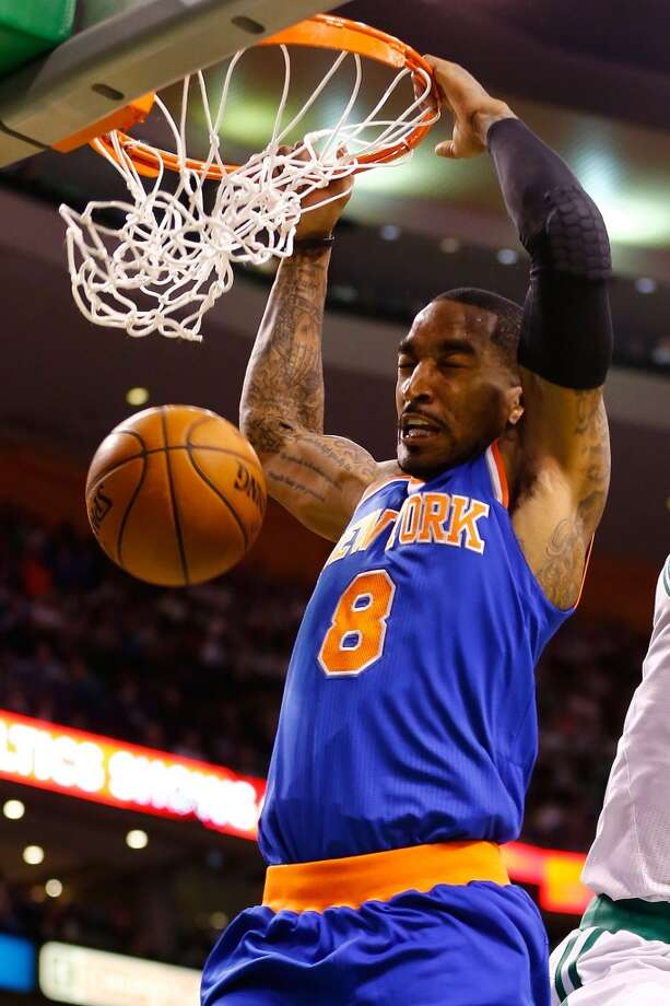 J.R. Smith  Re-signed with New York Knicks Photo: Jared Wickerham, Getty Images