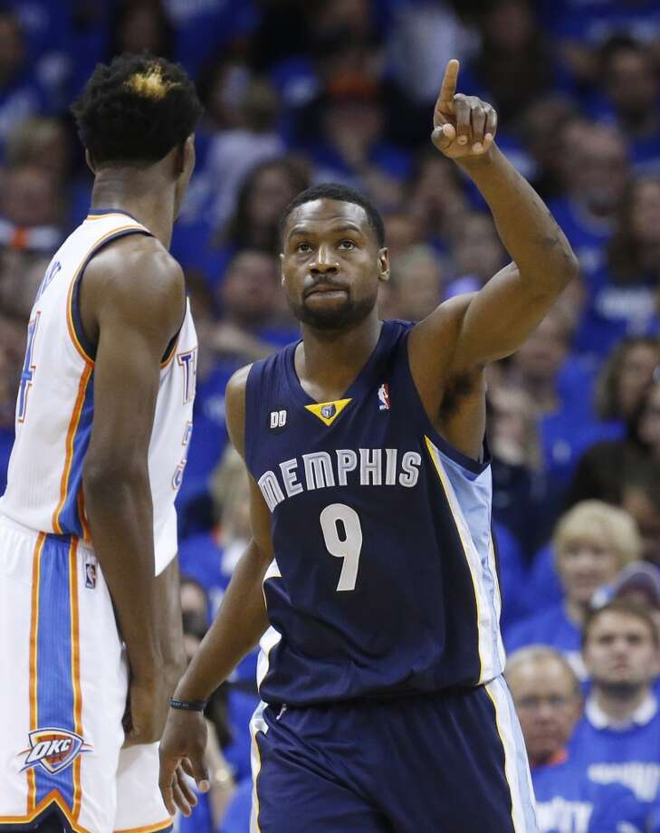 Tony Allen  Re-signed with Memphis Grizzlies Photo: Sue Ogrocki, Associated