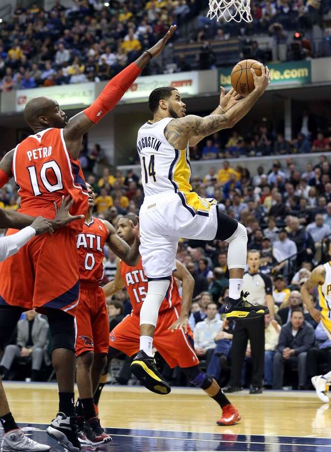 D.J. Augustin  Former team: Indiana Pacers  New team: Toronto Raptors  Photo: Andy Lyons, Getty Images