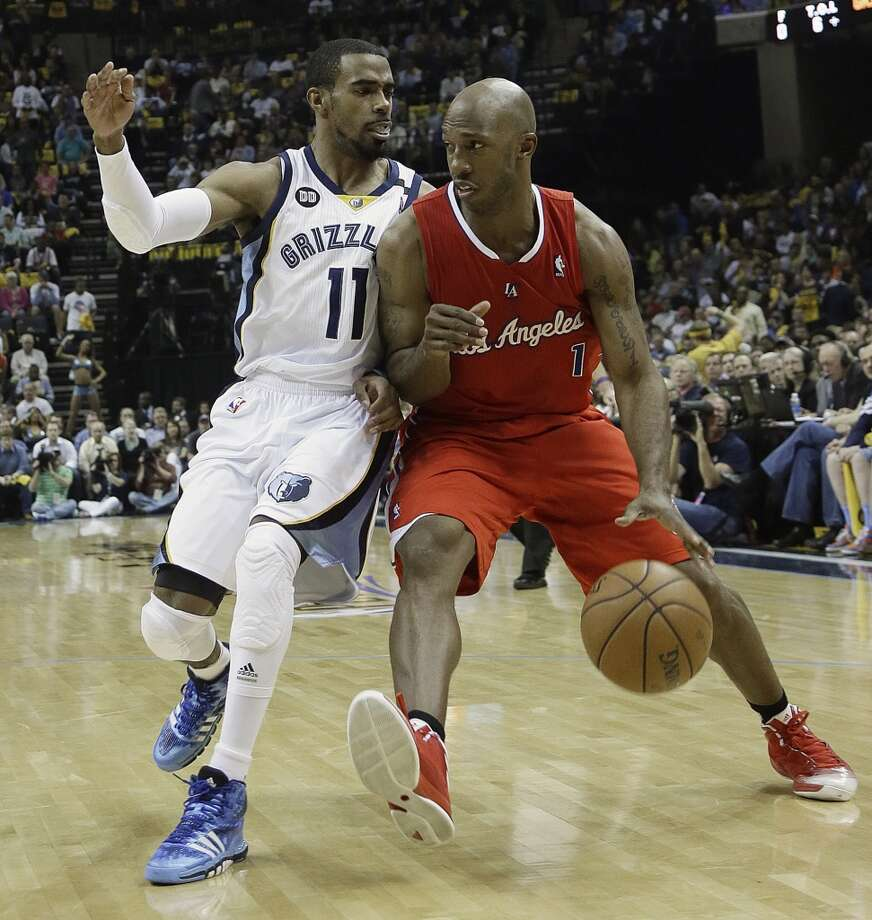 Chauncey Billups  Former team: Los Angeles Clippers  New team: Detroit Pistons Photo: Danny Johnston, Associated Press