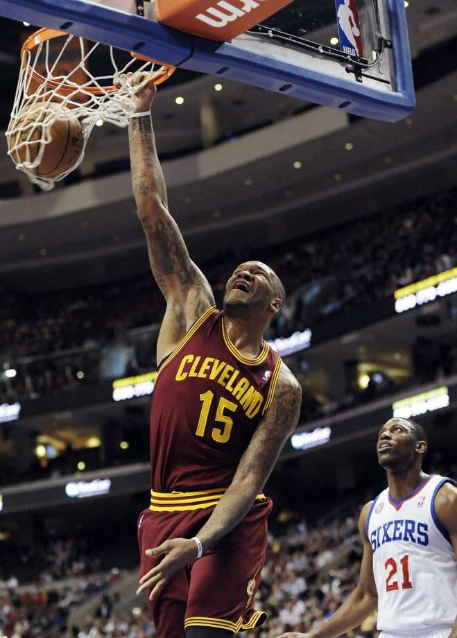 Marreese Speights  Former team: Cleveland Cavaliers  New team: Golden State Warriors Photo: Michael Perez, Associated Press