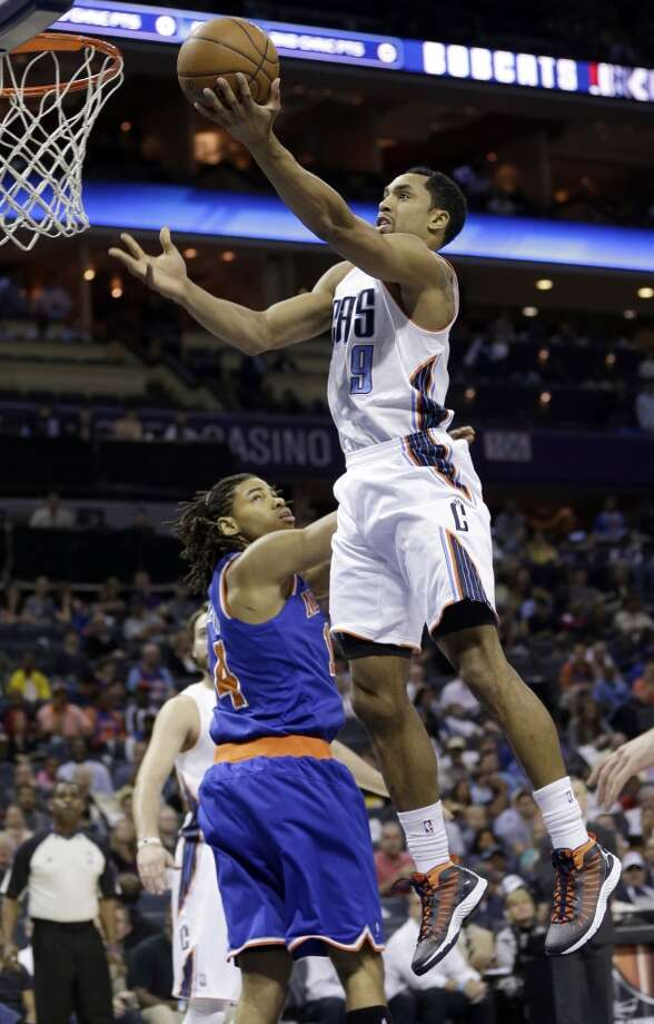 Gerald Henderson  Re-signed with Charlotte Bobcats  Photo: Chuck Burton, Associated Press