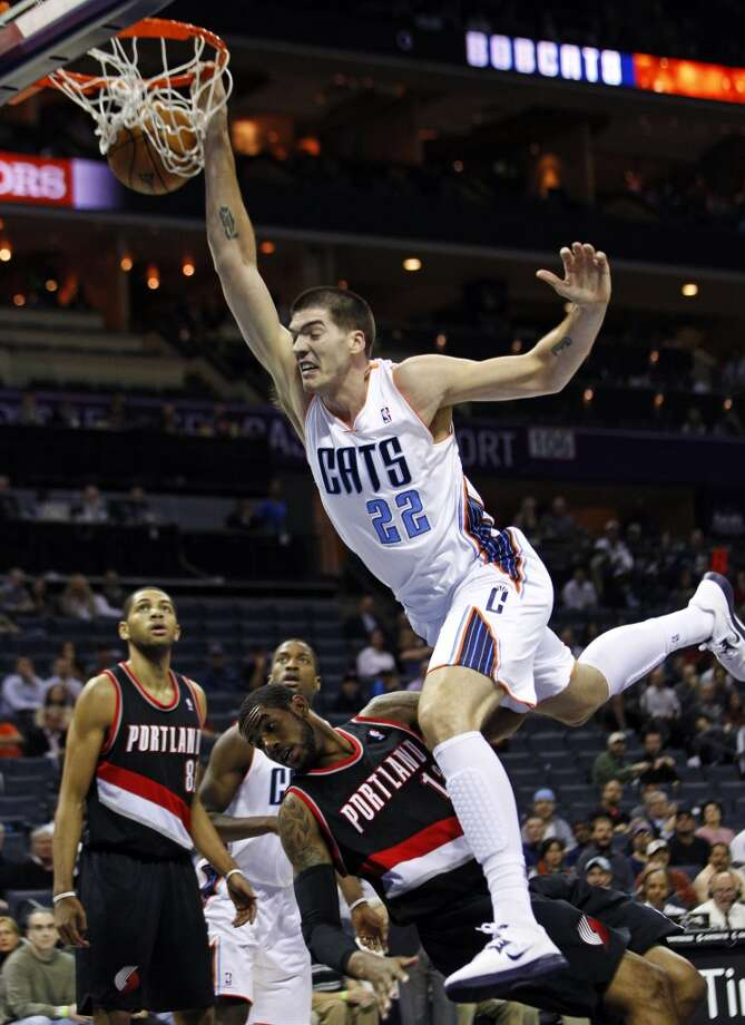 Byron Mullens  Former team: Charlotte Bobcats  New team: Los Angeles Clippers Photo: Chuck Burton, Associated
