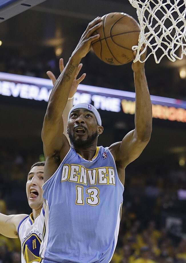 Corey Brewer  Former team: Denver Nuggets  New team: Minnesota Timberwolves (sign and trade) Photo: Ben Margot, Associated Press