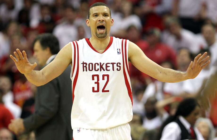 Francisco Garcia  Re-signed with the Rockets Photo: James Nielsen, Chronicle