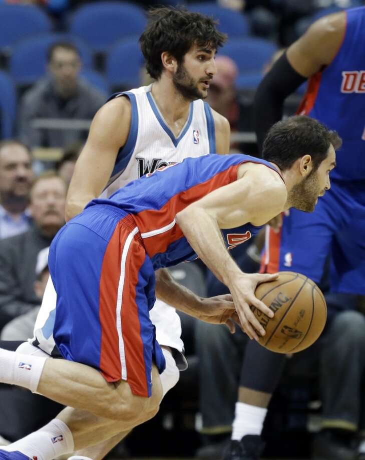 Jose Calderon  Former team: Detroit Pistons  New team: Dallas Mavericks Photo: Jim Mone, Associated Press