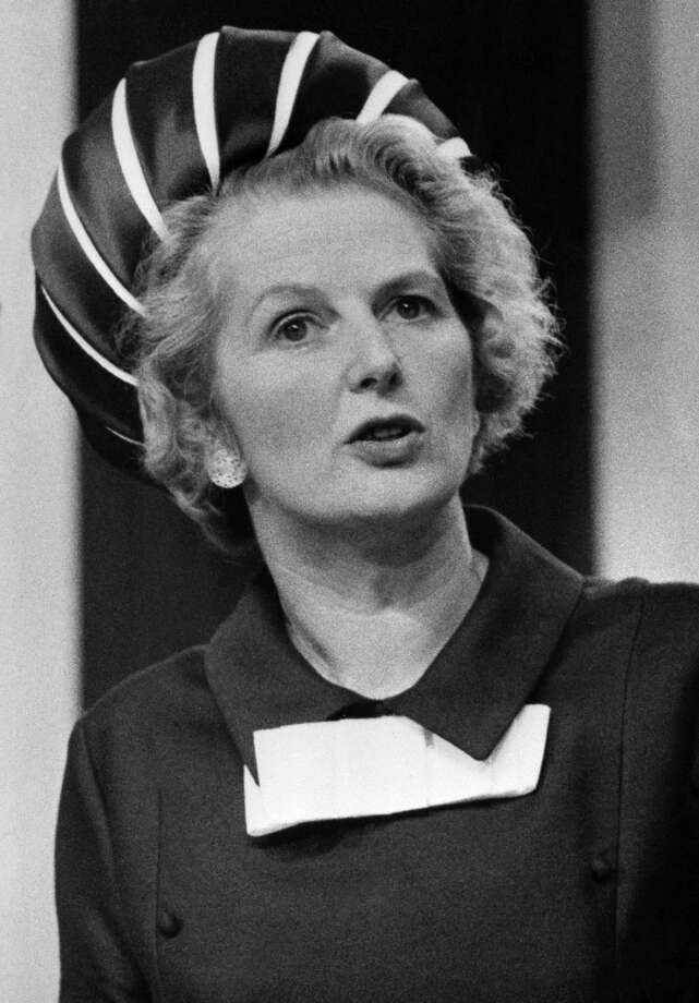 """46. Margaret ThatcherThe world stopped to honor Britain's first female prime minister when she passed away last month.Marget Thatcher was a dominant political figure. As a member of the conservative party in Britain, she was known for supporting a free-market economic ideology, and supported her close friend and then-US President Ronald Reagan in his fight against communism, which earned her the nickname of """"Iron Lady"""" by the Soviets.Margaret Thatcher died on April 8, 2013. Photo: -, File / AFP"""