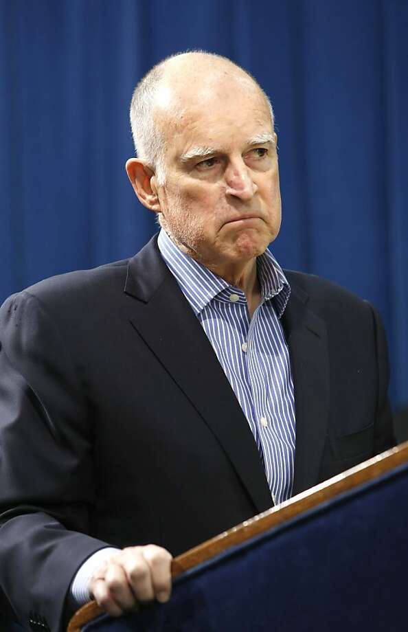 Gov. Jerry Brown says it's too easy to file suits under Proposition 65. Photo: Rich Pedroncelli, Associated Press