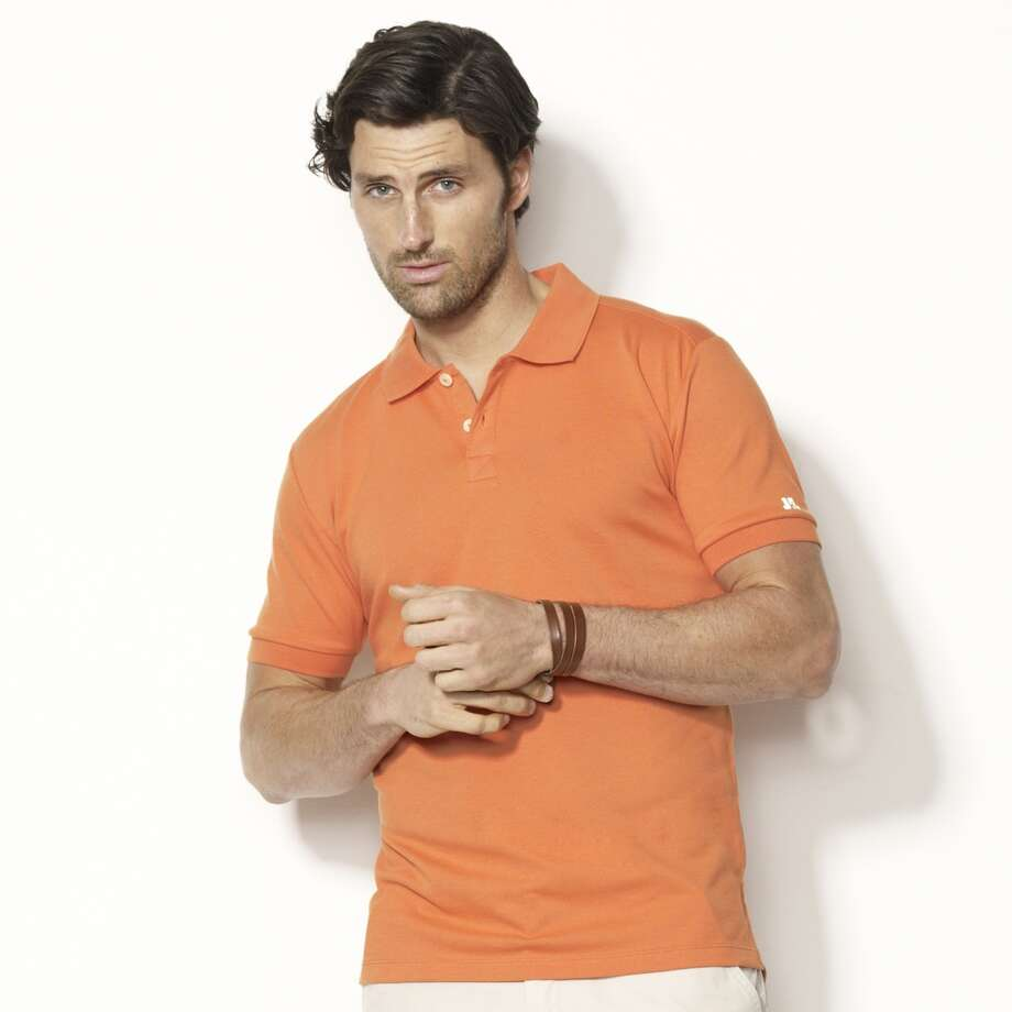 Matthew McConaughey's new fashion line, JKL,  features a spring All Journey Pique Polo Shirt.