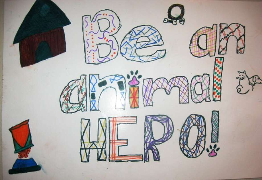 """I will take care of my pet by...""  Fourth Grade, 3rd Place, Garrett B., Helotes Elementary School"