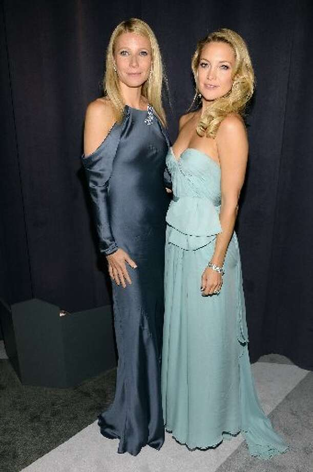 Gwenyth Paltro in Ralph Lauren and Kate Hudson.